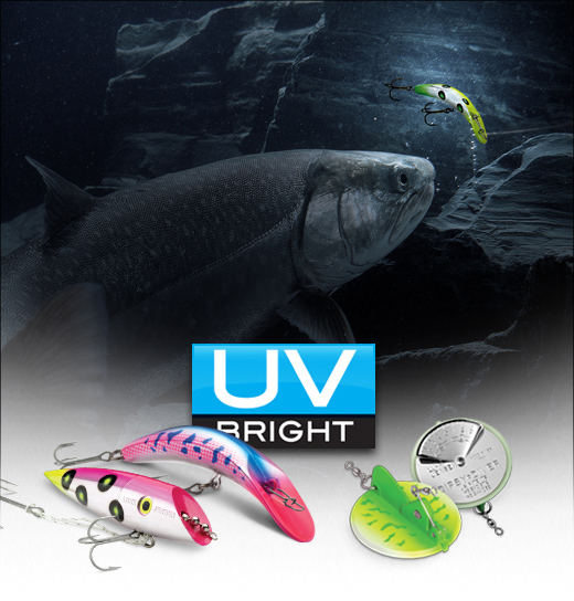 Fishing where the sun don t shine light em up with uv for Light up fishing spinners
